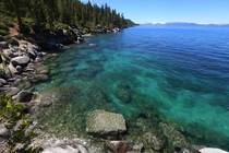 The color of water in Lake Tahoe OC