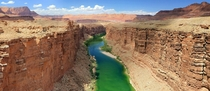 The Colorado river as seen from the Navajo Bridge