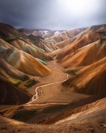 The Colorful Highlands of Iceland