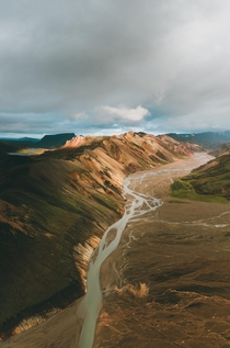 The colors of the Icelandic Highlands