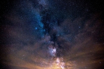 The Colors of the Milky Way - taken two weeks ago in my backyard