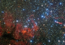 The colourful star cluster NGC