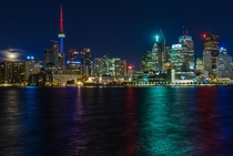The Colours of Toronto at Midnight