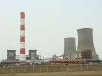 The cooling towers of the Kalisindh thermal power plant in India the worlds largest
