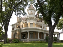 The Cooper House - Waco Texas USA - Built in  for Mr and Mrs Madison Alexander Cooper with both Victorian and Greek Revival features