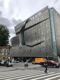 The Cooper Union building just smacks