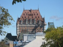 The copper roof on the Chteau Frontenac in Qubec City has just been replaced - I thought Id share OC - x