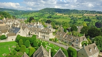 The countryside is not a slice of untilled nature It is a human institution built over centuries in the image of the people who made it - Sir Roger Scruton Painswick Gloucestershire England