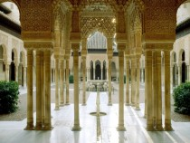 The Court of the Lions in the Alhambra Grenada