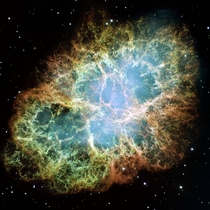 The Crab Nebula  xpost rNebulaPorn