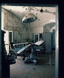 The creepy hospital wing of abandoned Patarei Prison in Tallinn Estonia