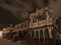 The creepy old abandoned brothelrestaurant in Verdi Nevada  OC   X