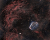 The Crescent Nebula  by Steve Furlong