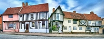 The crooked houses of Lavenham England