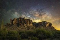 The Crown Jewel of the Sonoran Desert - Superstition Mountains Arizona