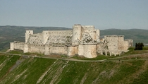 The Crusader Castle Krak des Chevaliers XI-XII Centuries Syria