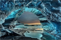 The Crystal Grotto - Jkulsrln Iceland  photo by Christian Klepp