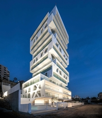 The cube in Beirut Lebanon Designed by Orange Architects