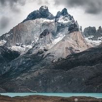 The Cuernos del Paine Torres del Paine National Park Chile