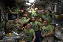 The cutest thing in the world to me is the crew on the International Space Station just goofing around together and having a good time No borders no egos just strangers whove become best friends So pure and wholesome