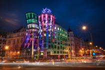 The Dancing House in Prague Czech Republic Designed by Frank Gehry Photo by RC Concepcion
