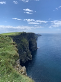The daunting Cliffs of Moher Clare Ireland