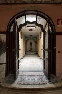 The Daytime Metropolitan Hotel an underground art nouveau hotel beneath the streets of Milan
