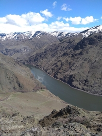 The deepest gorge in the US isnt in Arizona its Hells Canyon