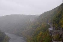 The Delaware River in Upstate New York