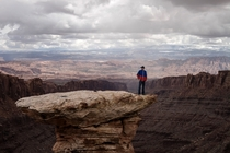 The depths of Moab Utah make you realize how small you are in this world