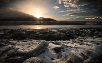 The Desolation of Turnagain Arm in Alaska