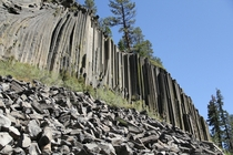 The Devils Post Pile Mammoth Lakes CA