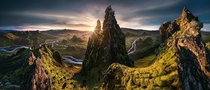 The Dictator Beautiful Panoramic of a sunset in the Icelandic Highlands Photo by Max Rive