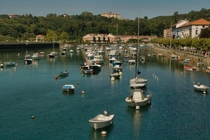 The Docks on a Calm Day Plenzia Basque Country Spain