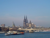The Dom from the Rhine Cologne
