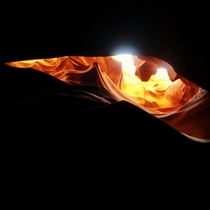 The Dragons Eye Antelope Canyon Arizona
