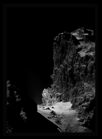 The Dramatic Cliffs of Comet PChuryumov-Gerasimenko