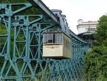 The Dresden Suspension Railway is the second-oldest of its kind dating back to