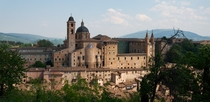 The Ducal Palace of Urbino mid-fifteenth century for Duke Federico III da Montefeltro by the Florentine Maso di Bartolomeo