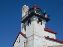 The Duluth MN harbor entry lighthouse Completed in