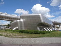 The Dutch love architecture This is a booster station for the pumping of sewage Amsterdam