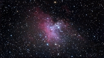 The Eagle Nebula with a basic DSLR
