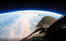 The Earth from the edge of space aboard a U- Spy Plane