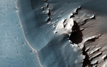 the eastern Noctis Labyrinthus region of Mars