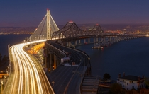 The eastern spans of the San FranciscoOakland Bay Bridge