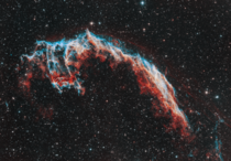 The Eastern Veil Nebula  -Panel Mosaic from my home in rural Alaska