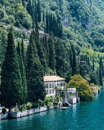 The eclectic Villa Monastero on the shores of Lake Como Varenna Lombardy Italy