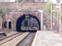 The  Edge Hill to Lime Street tunnel in Liverpool - the oldest rail tunnel in the world still in active use