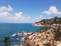 The edge of Alma Bay Magnetic Island Australia