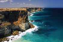 The edge of the Earth Nullarbor Cliffs Australia